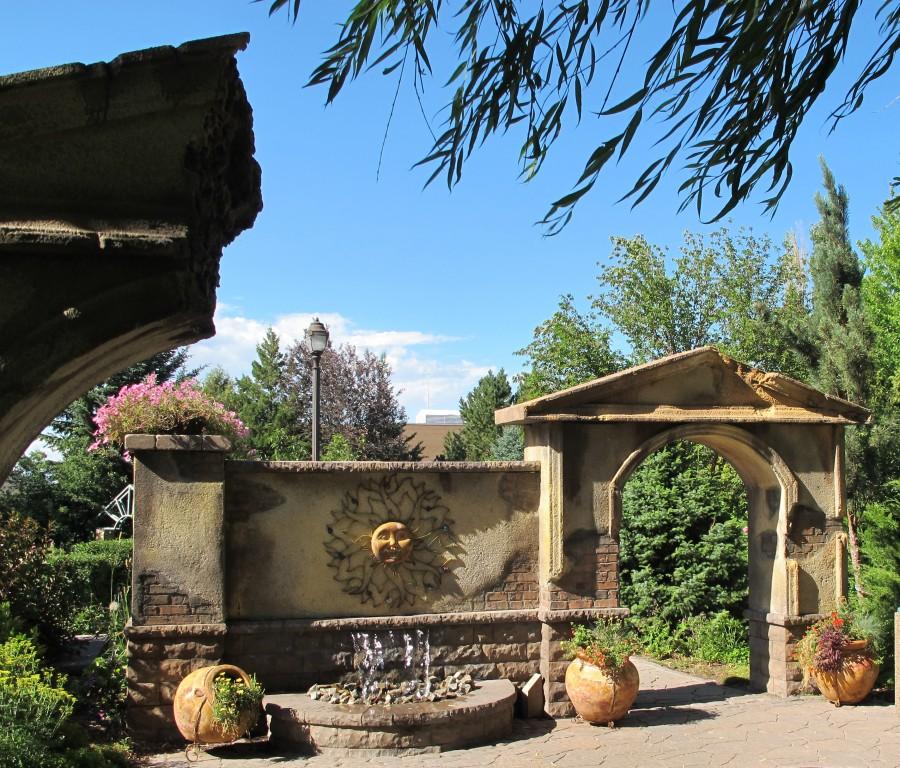 BYU Idaho gardens
