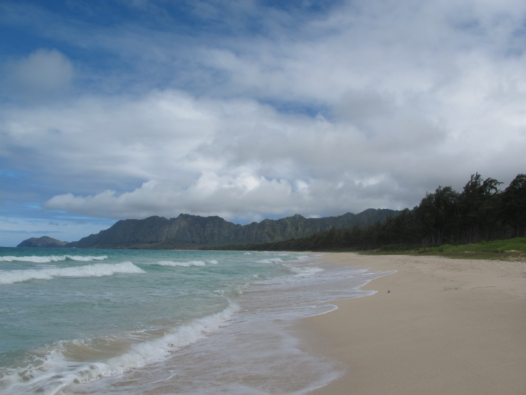 Bellows beach Oahu Hawaii